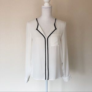 White Blouse Necessary Clothing Size Small